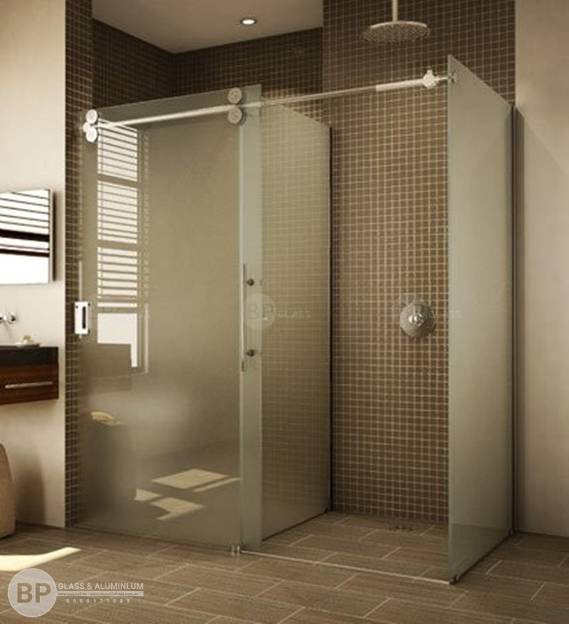 7 Lý do thuyết phục khiến bạn phải lắp cửa kính lùa cho nhà tắm?