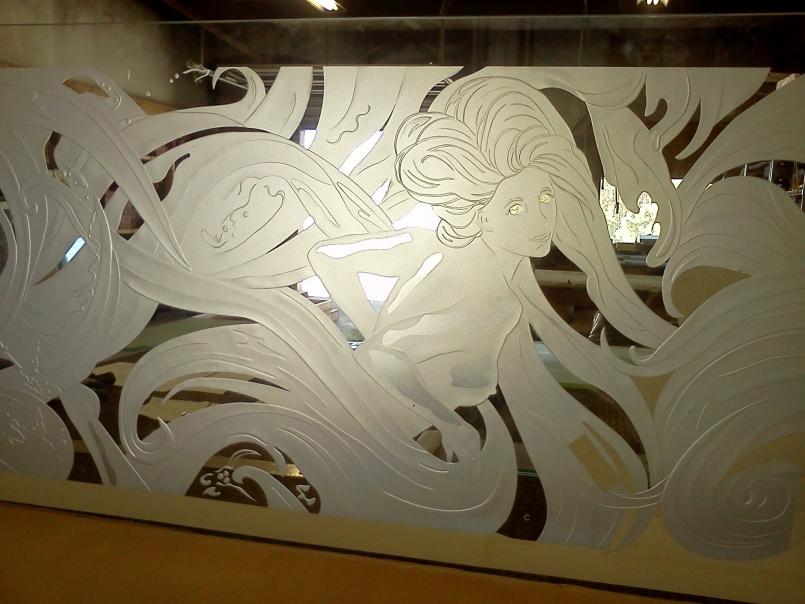 Báo giá kính phun cát mờ, các mẫu kính phun cát hoa văn nghệ thuật đẹp