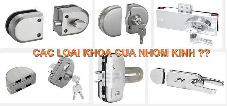 Các loại khóa cửa nhôm kính thông dụng nhất hiện nay?