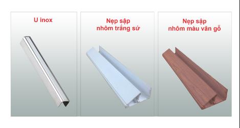 Các loại nẹp kính cường lực, Cách lắp nẹp cửa nhôm kính cường lực chuẩn