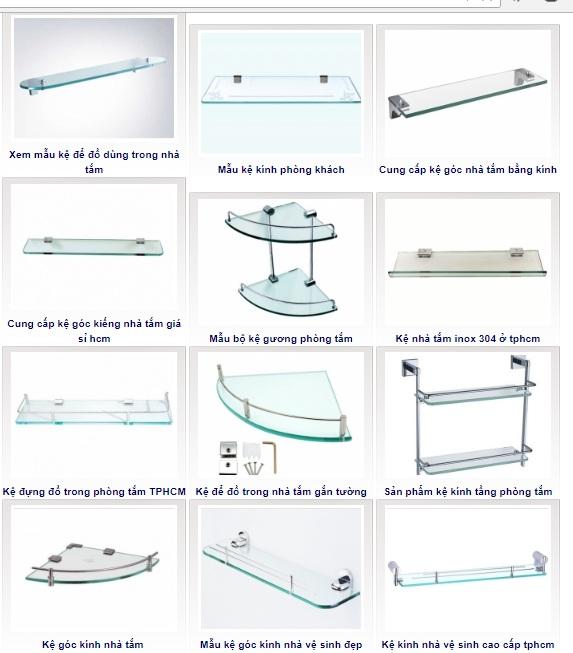 Chuyên cung cấp kệ kính phòng tắm, kệ kính góc, kệ đựng đồ giá rẻ đẹp