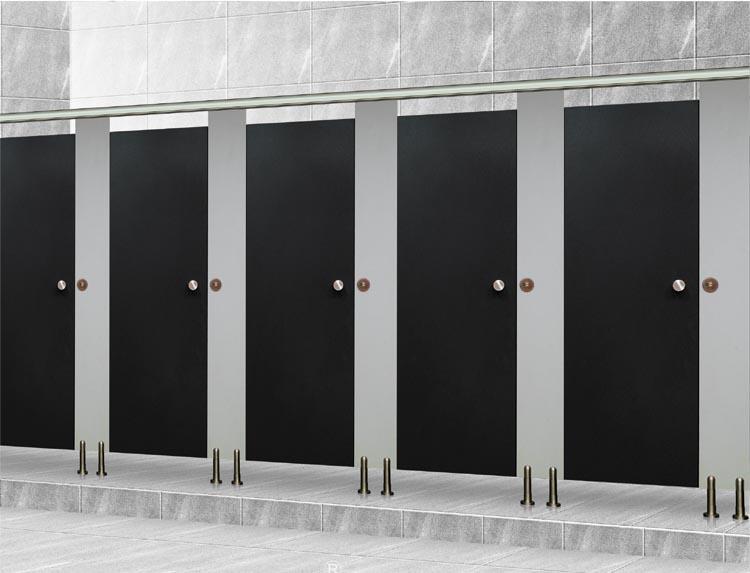 Cửa nhà vệ sinh nên làm bằng gì, Kích thước cửa theo phong thủy?