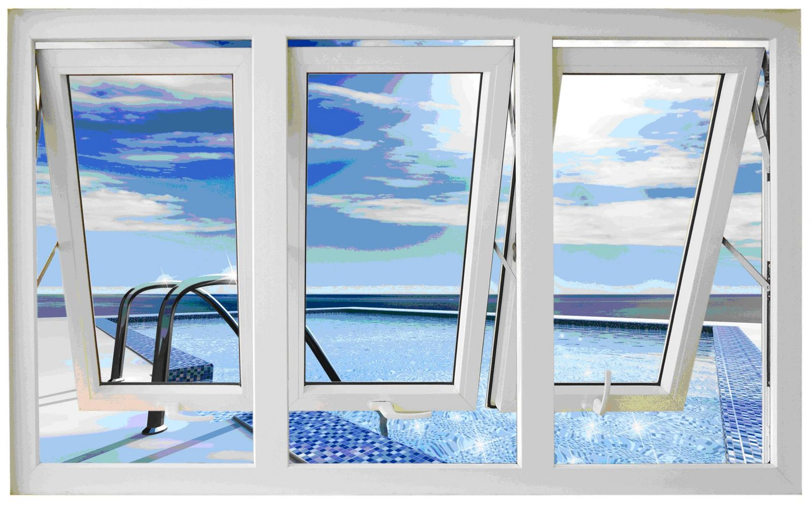 Cửa sổ mở hất ra ngoài lắp ở những vị trí nào phù hợp? Hỏi giá chi tiết