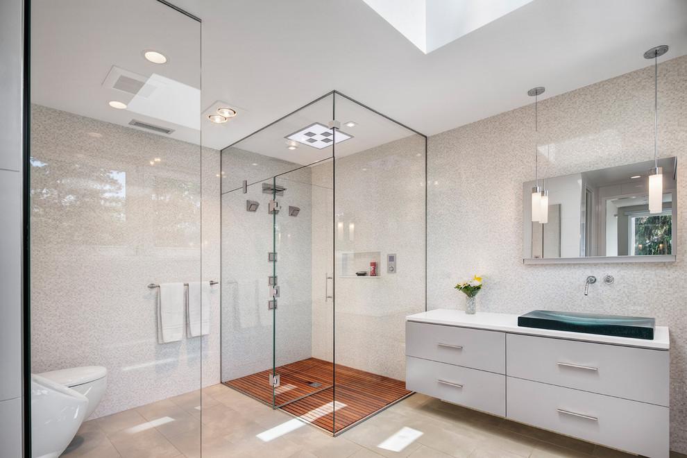 Hỏi - Kích thước vách tắm kính tiêu chuẩn bao nhiêu