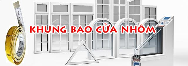Kích Thước Khung Bao Cửa Nhôm Xingfa?