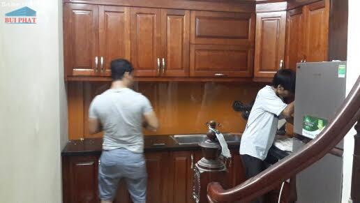 Làm kính bếp tại Đền Lừ, Hoàng Mai, Hà Nội
