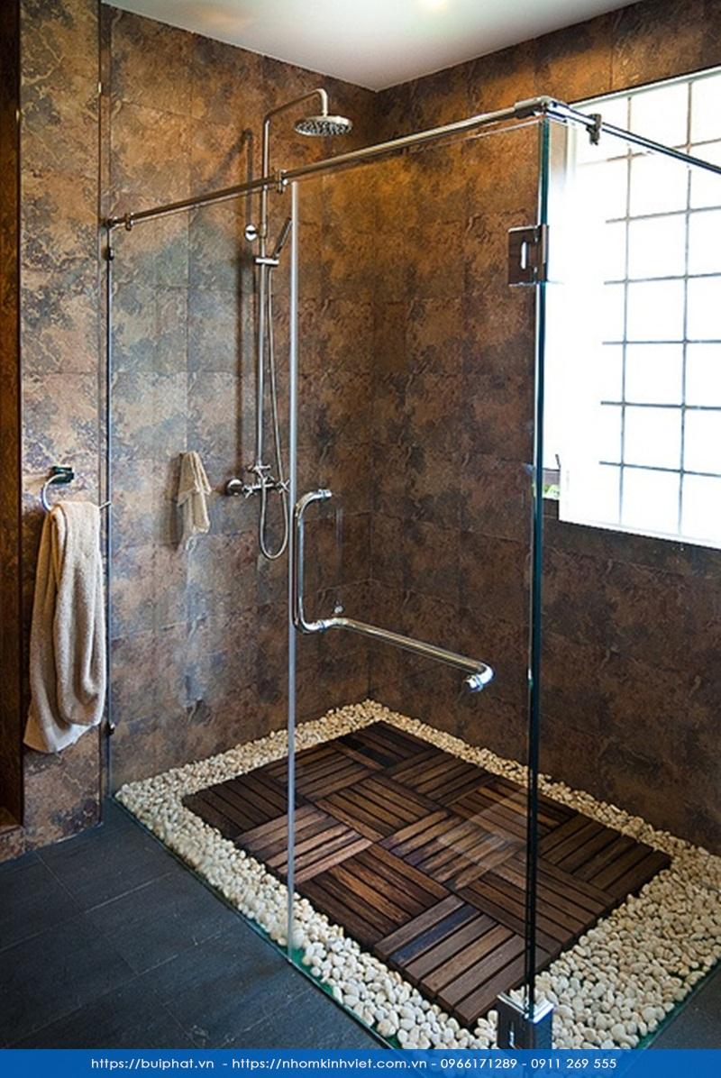 Những điều nên tránh khi thiết kế vách kính trong nhà tắm