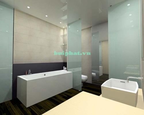 Kính màu phòng tắm