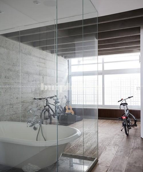 Vách ngăn kính nhà tắm