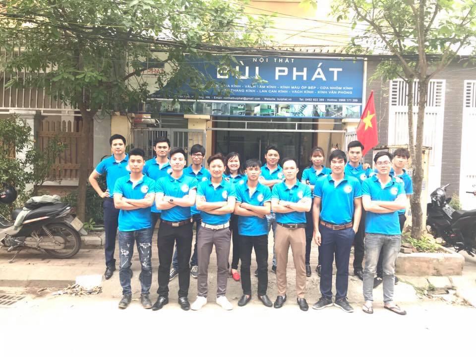 Ảnh tập thể đội ngũ kỹ thuật Hà Đông ( bùi Phát)