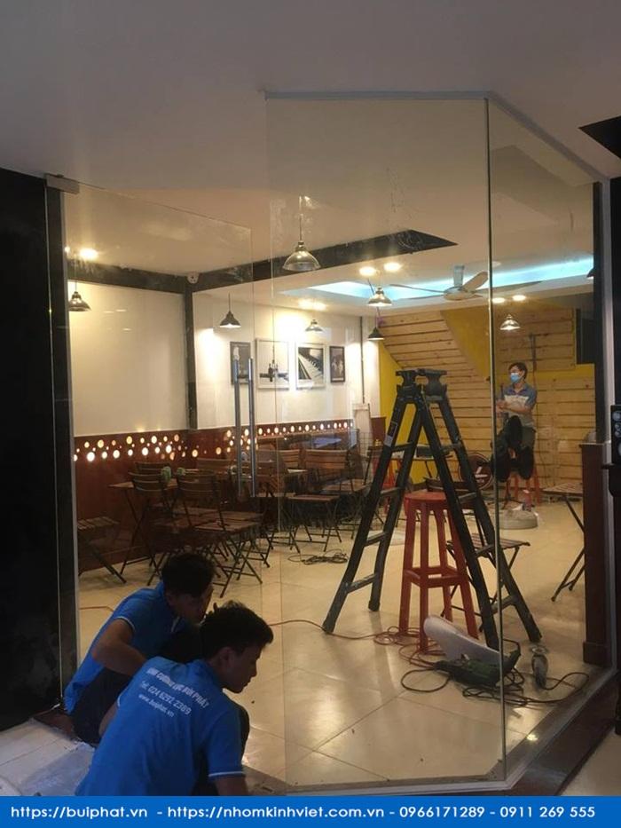 Cua thuy luc quan cafe anh biet 274 Nguyen van dau binh thanh 2