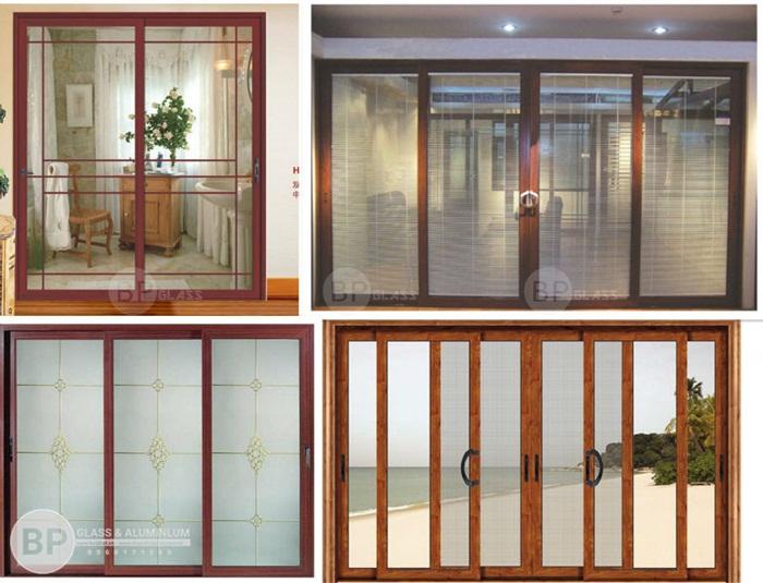 Cửa nhôm kính Xingfa hệ vân gỗ nét đẹp hiện đại của màu truyền thống