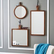 gương treo tường khung gỗ