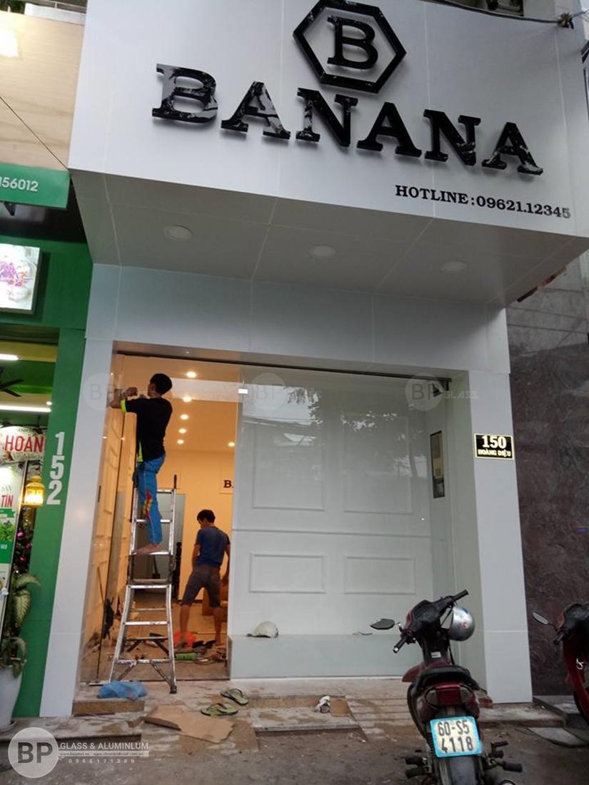 Cập nhập 11 Mẫu cửa kính cường lực mặt tiền cho các chủ shop thời trang