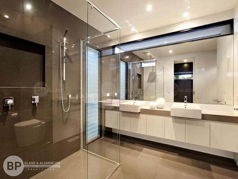 Những loại vách tắm kính thông dụng hiện nay