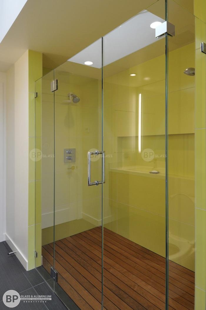 Phụ kiện sử dụng lắp vách tắm kính cửa mở quay cường lực
