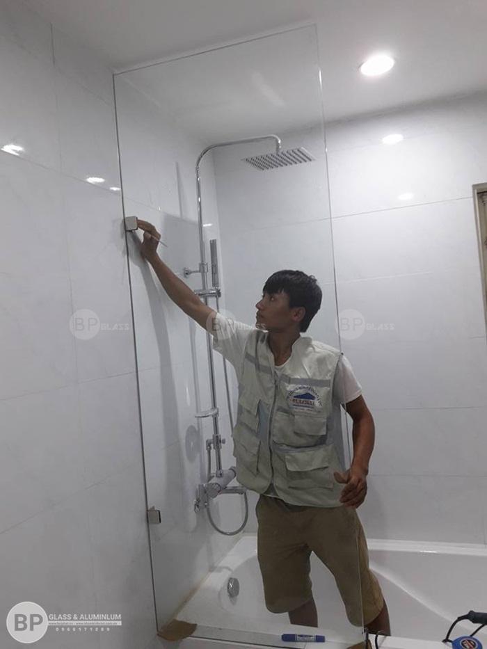 Tạo sự liền mạch cho không gian phòng tắm